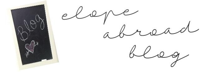 Elope Abroad Blog