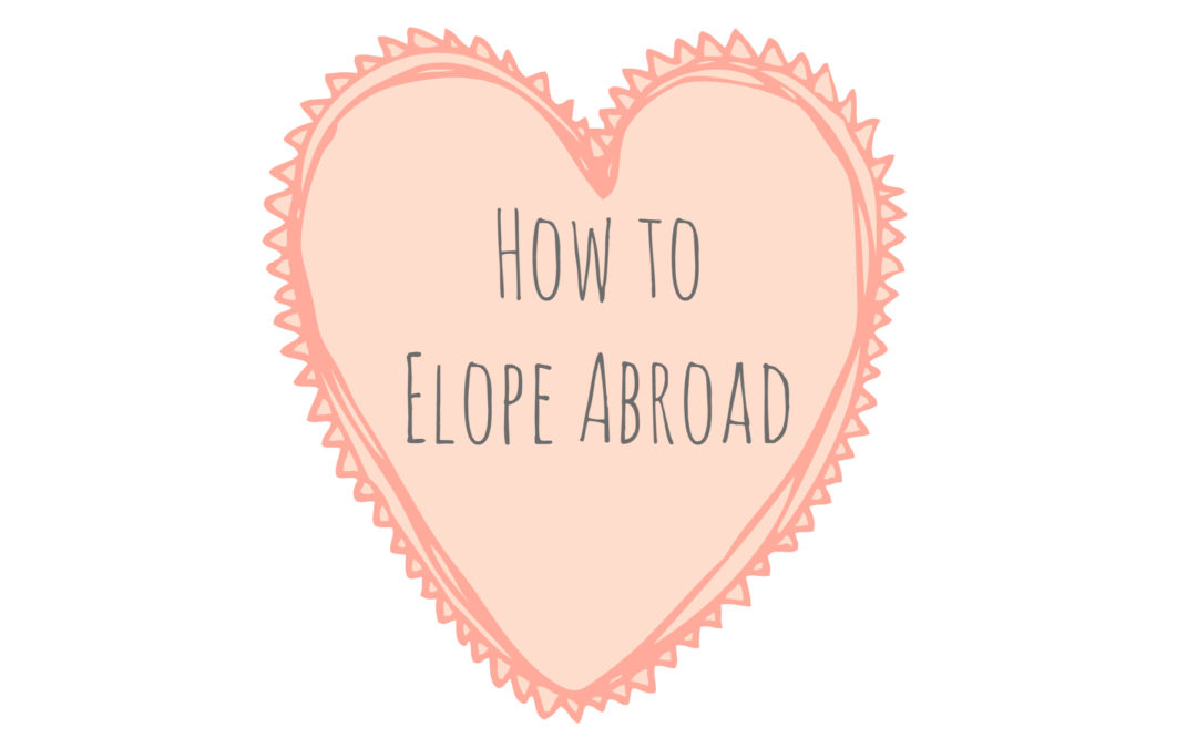 11 Steps to Plan Your Destination Elopement (INFOGRAPHIC)