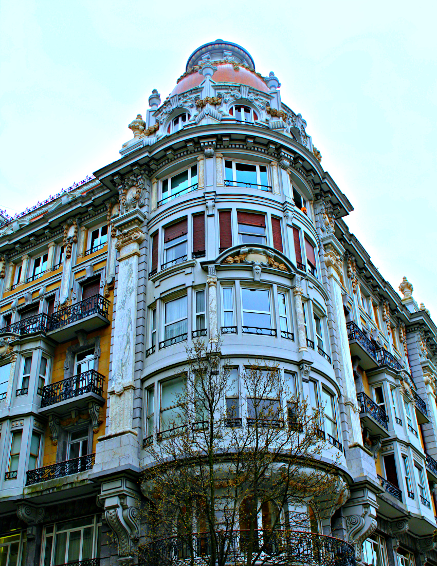 Beautiful Building in San Sebastian