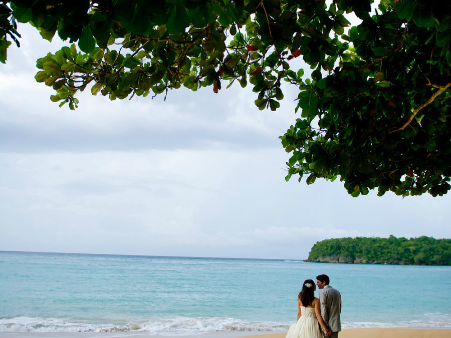 Beautiful Beach Elopement in Ocho Rios, Jamaica