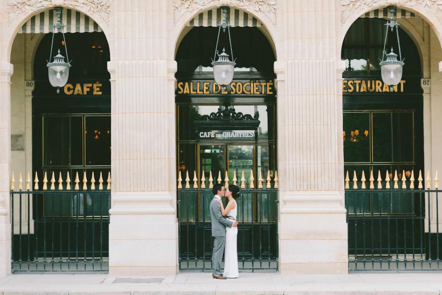 Paris Cafe Elopement