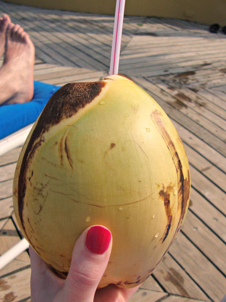 Pina Colada in Jamaica