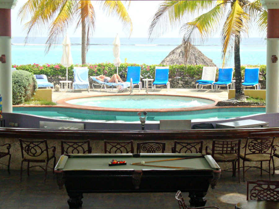 Pool Table at Jewel Dunn's River Resort