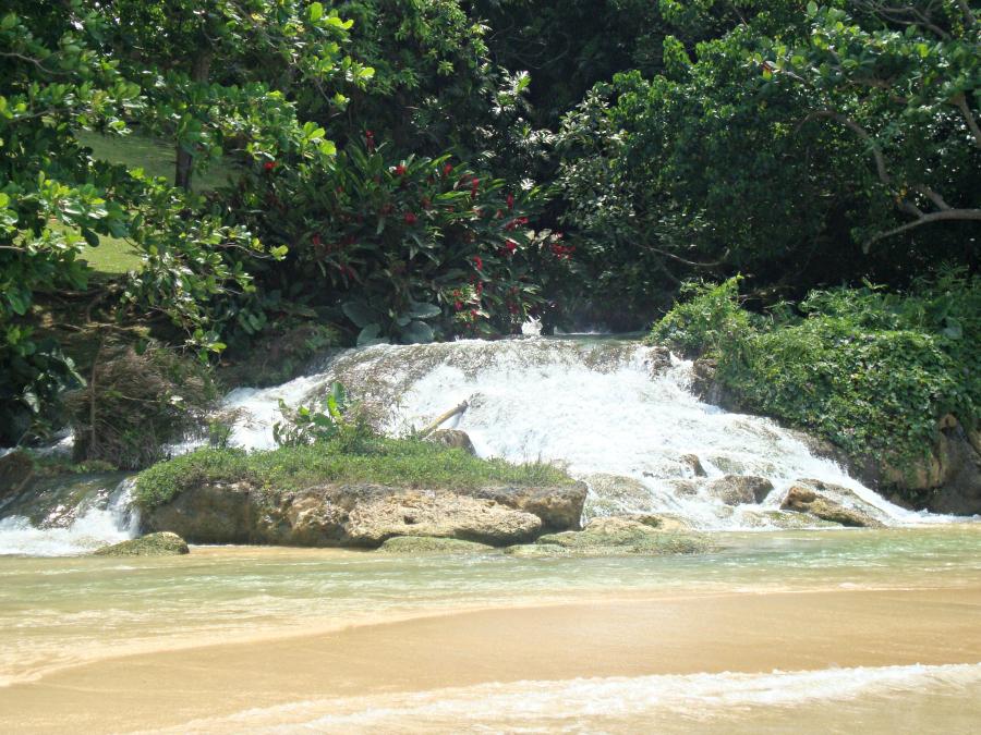 Laughing Waters Shoreline in Ocho Rios