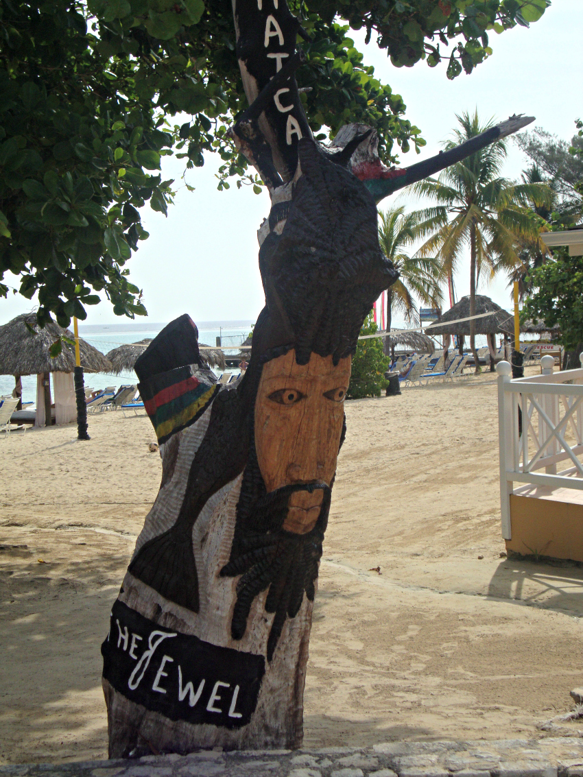 Painted Tree at the Jewel in Ocho Rios